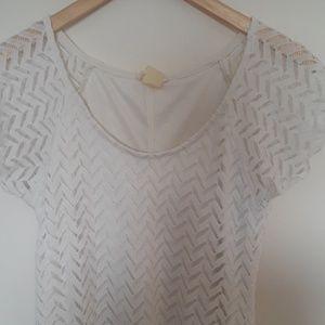 Brittany Black White Angle Shirt